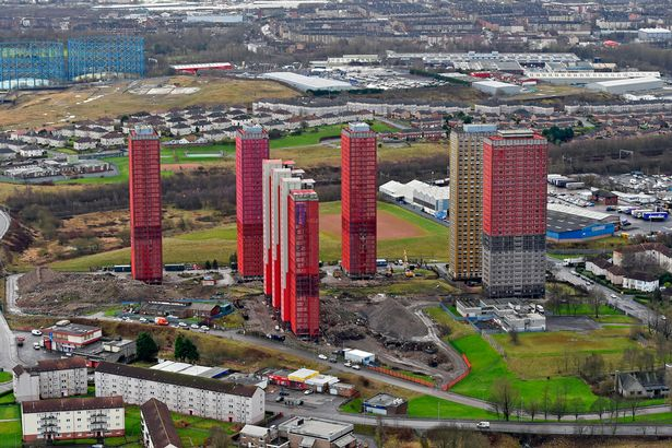 Red Road towers are testament to strength of steel columns