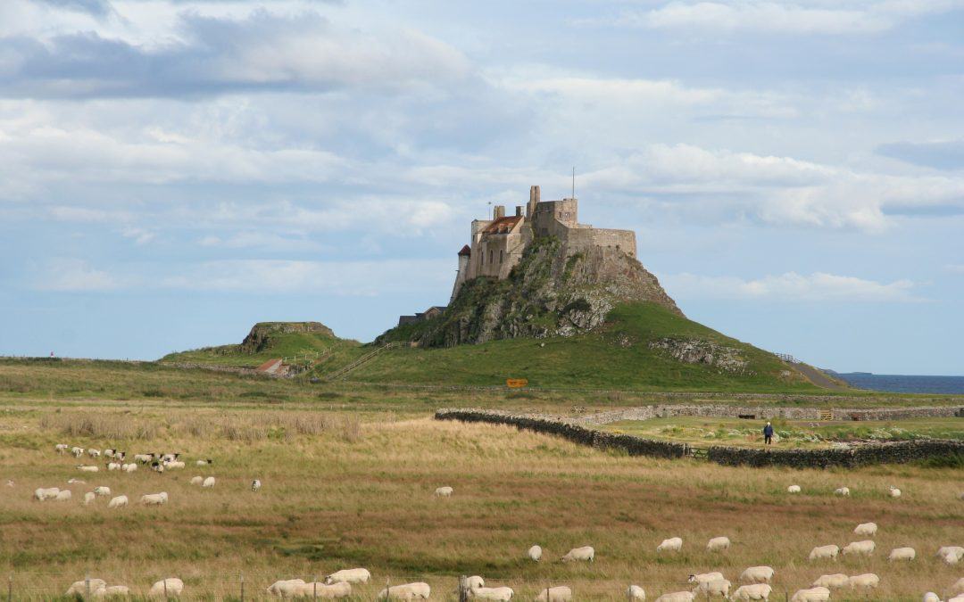 Steel Beams Keep The Elements Out Of Lindisfarne