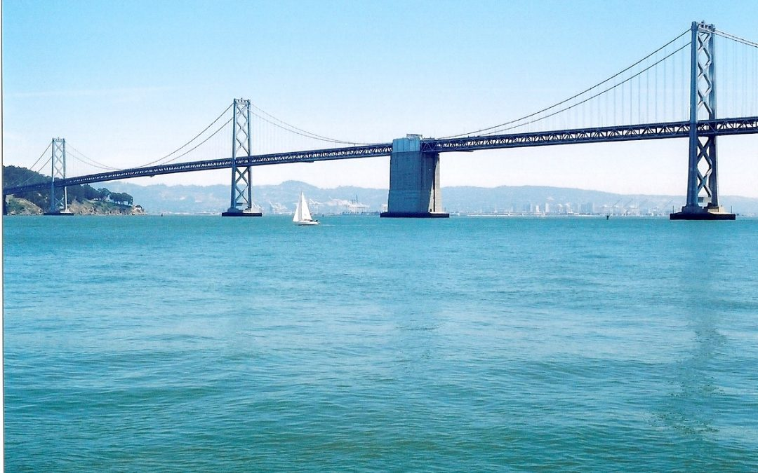 Second-hand Steel Will Make Public Art Of SF Bay Bridge