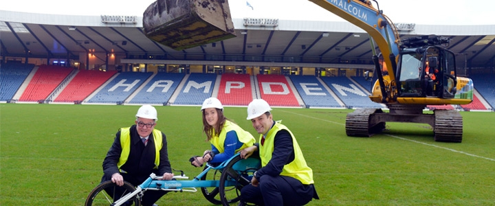 Structural steel helps Hampden cater for the Commonwealth Games