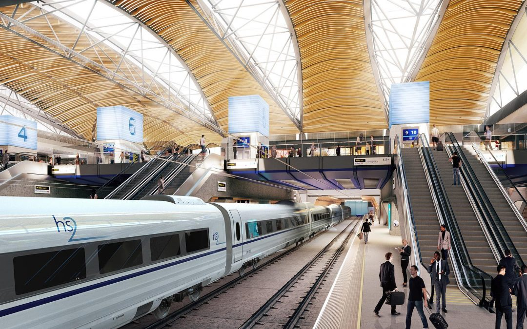 UK steel suppliers ready for HS2 demand